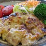 鶏モモ肉の味噌マヨ焼き