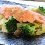 鮭と野菜の味噌ちゃんちゃん焼き