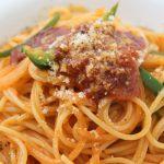 ナポリタン風ミートソーススパゲティ