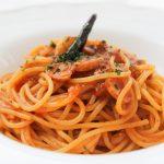 ペペロンチーノ風ミートソーススパゲティ