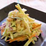 野菜とちくわのおでんみそマヨ和え